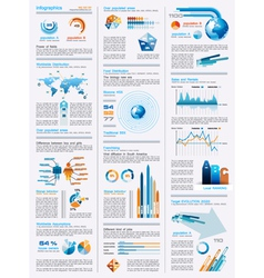 Infographical Icons vector image