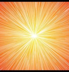 Sun Burst Blast Background vector image vector image