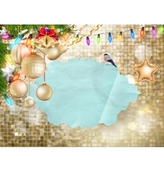 Christmas decoration EPS 10 vector image