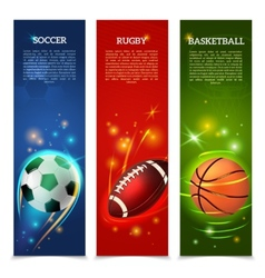 Soccer Banners Set vector image