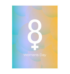 8 march womens day sign icon holiday symbol icon vector