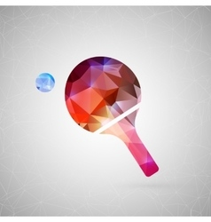 Abstract creative concept icon For web and vector image