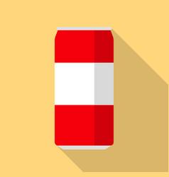 coca cola icon flat style vector image