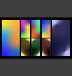 Colorful gradient abstract background vector