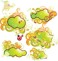 Fresh Summer Set vector image