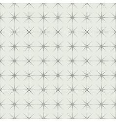 Geometric dot pattern seamless background vector image