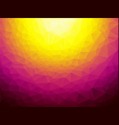 orange violet triangular background vector image