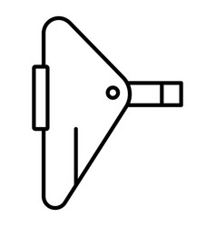 Spot welding icon outline style vector