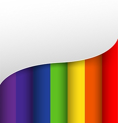 Abstract background colorful rainbow color vector