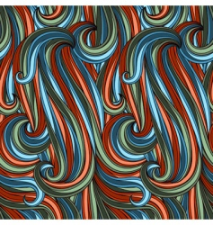 abstract curves pattern vector image