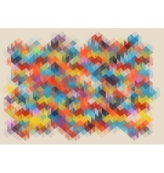 low poly abstract mosaic background vector image