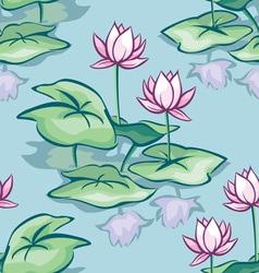 lotus seamless vector image