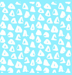 Trendy triangle seamless pattern vector
