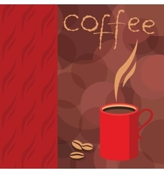 Corporate identity for printed booklet cafe vector image