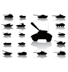 WeaponTanks vector image