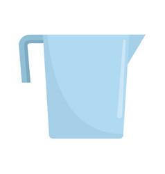 beaker icon flat style vector image