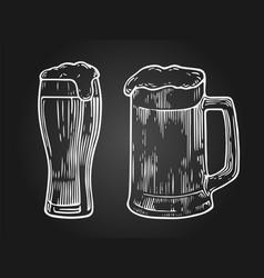 beer2neg vector image