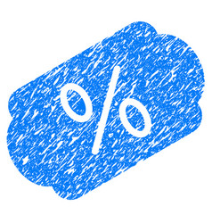 Discount label grunge icon vector