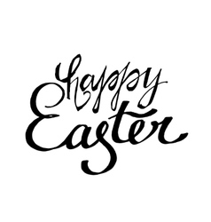 Easter Lettering 06 A-04 vector image