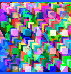 geometric abstract cute triangles design image vector image
