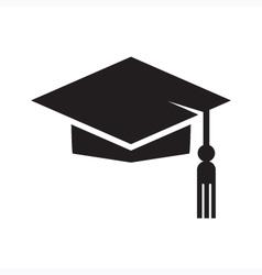 Graduation Cap Symbol vector