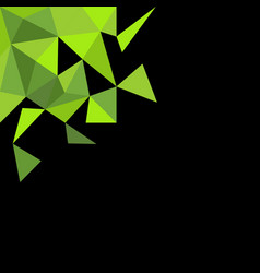 green and black background with empty space vector image