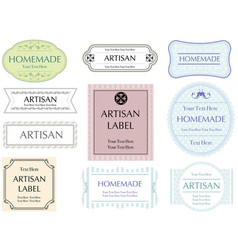 Labels set 5 vector