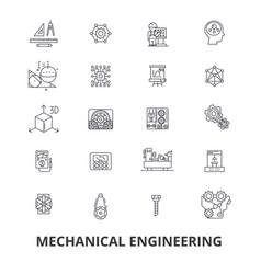 Mechanical engineering mechanic electrical vector