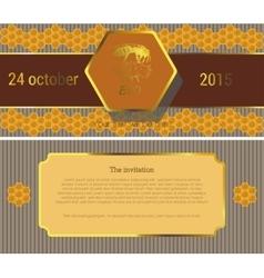 The invitation 5 vector