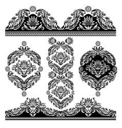 frame elements vector image