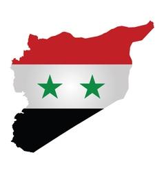 Syrian Flag vector image