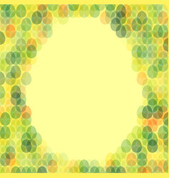 easter card with space for text vector image vector image