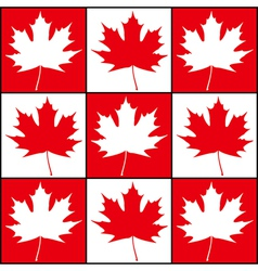 Maple Background vector image