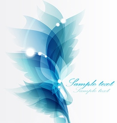 Abstract vintage blue background for design vector image vector image