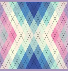 Argyle seamless pattern background vector