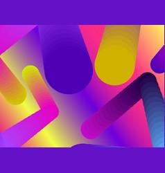 Gradient shape modern colorful geometric vector