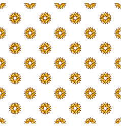 Honey plant pattern seamless vector