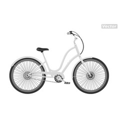 Photo-realistic bicycle vector