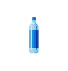 plastic bottlewhite background vector image