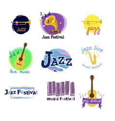 the most enjoyable time is jazz in nature vector image