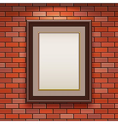 empty frame vector image vector image