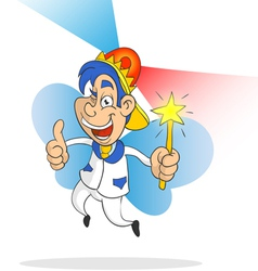 Fairy Man vector image vector image