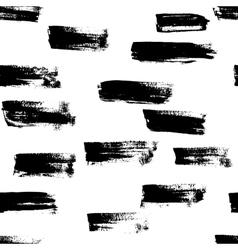 Seamless handmade abstract brush strokes vector image vector image