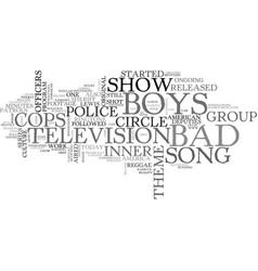 Bad boys vs nice guys which do you prefer text vector