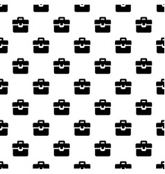 briefcase pattern seamless vector image