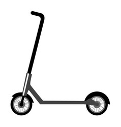 Electric scooter vector