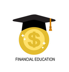 financial literacy in people vector image