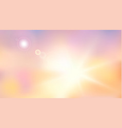 Heaven blur background abstract art blurred blue vector