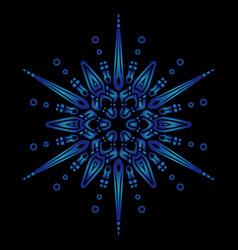 Mandala 8 vector
