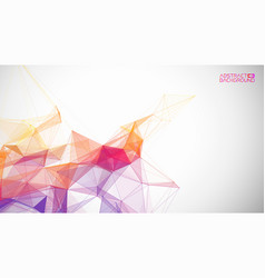 network background abstract connect technology vector image